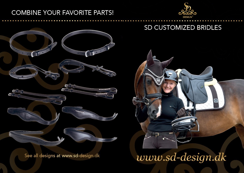 SD Customized bridles - SD Design Aps