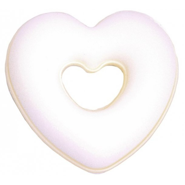 SD® Heart Dressage donut in Blond. H-104