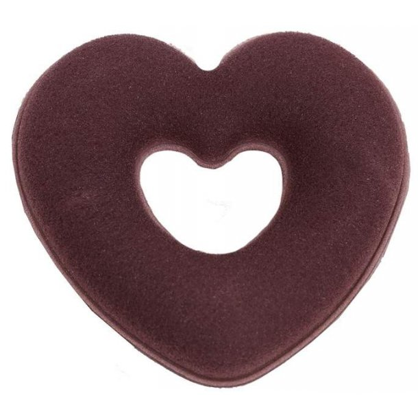 SD® Heart Dressage donut in Brown. H-104