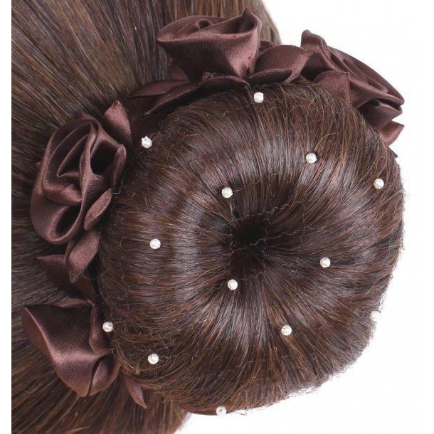 SD¸ Pearl Hairnet in Brown. K-106