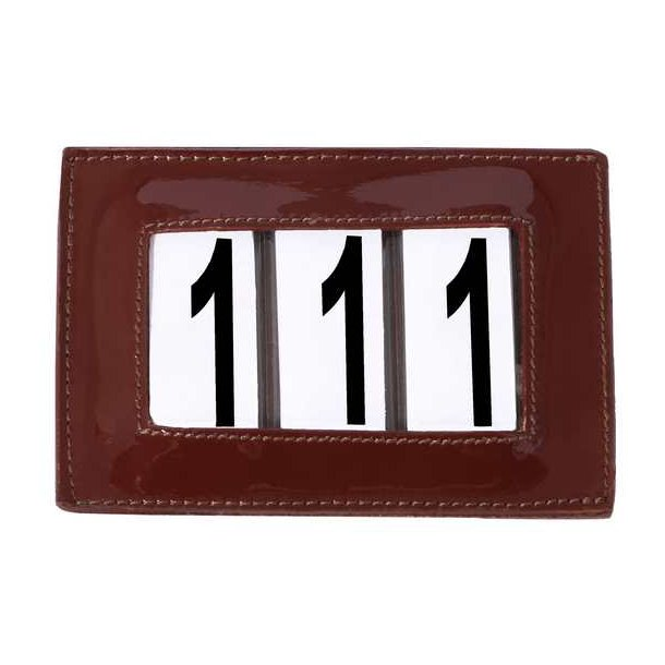 SD® Patent number holder in redbrown. O-107