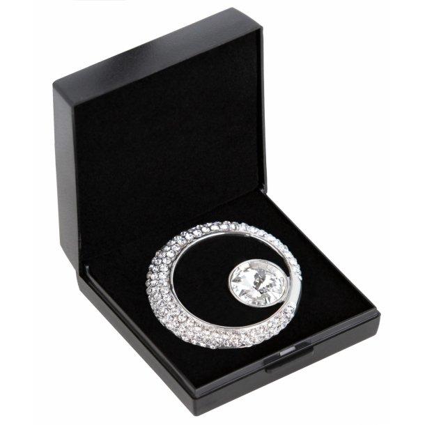 SD® De Luxe Stock pin in Crystal. A-130