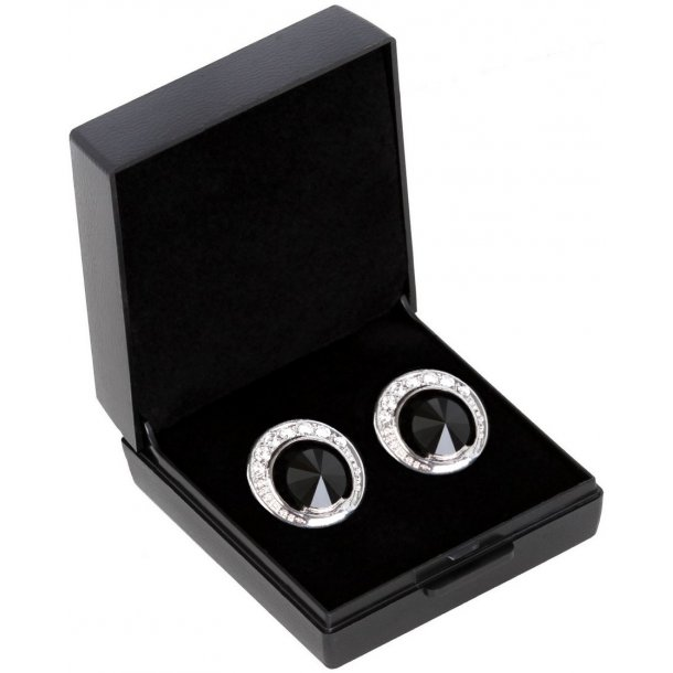 SD® De Luxe earrings in Jet. B-139