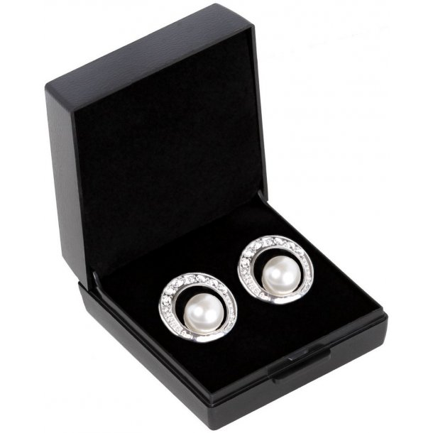 SD® De Luxe earrings in Cream Pearl. B-139