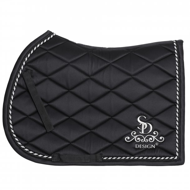 SD® Classic Saddle Pad in Jet. Only jump cob size. D-101