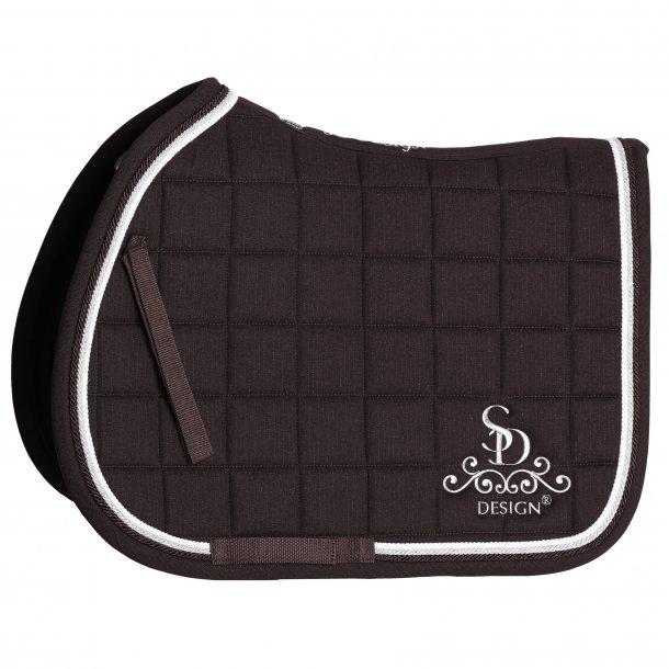 SD® Secret Shine Saddle pad in Brown. Only jump/dressage cob size. D-115