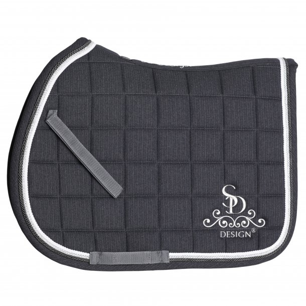 SD® Secret Shine Saddle pad in Grey. Only jump cpb size. D-116