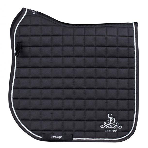 SD® Legacy Saddlepad Black & Silver D-121