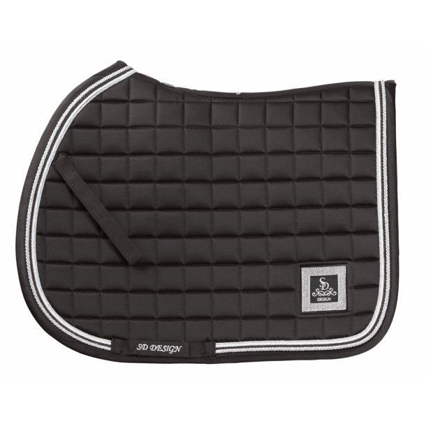 SD® Diamond Edition saddlepad in Onyx. Only jump cob size. D-144
