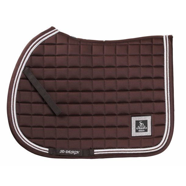SD® Diamond Edition saddlepad in Smoked Topaz. Only jump cob size. D-146