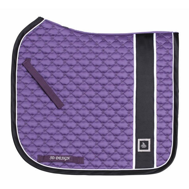 SD® Diamond Monogram Edition saddlepad in Amethyst. Only dressage cob size. D-170