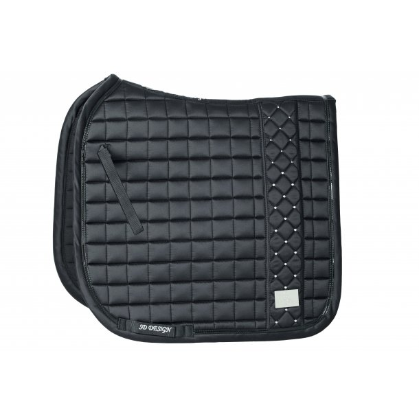 SD® DeLuxe Limited Edition saddlepad in Moonless Night Black. D-177