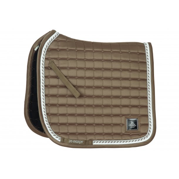 SD® Signature saddlepad in Iced Brown. D-187