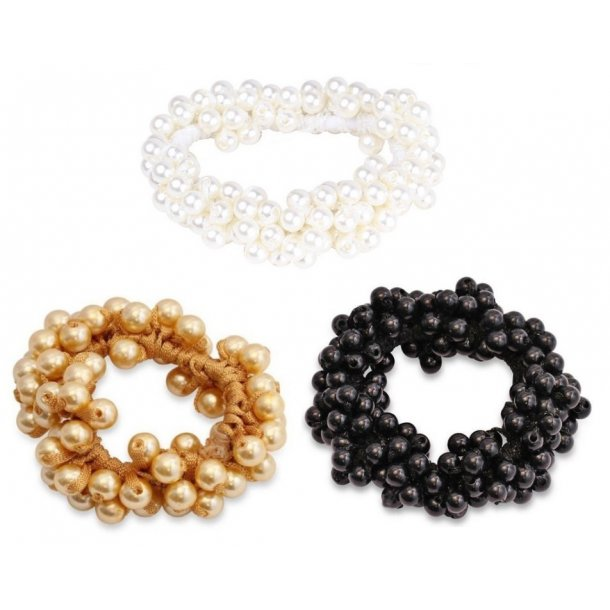 SD® Pearl Collection scrunchie. J-140