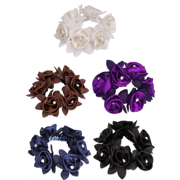 SD® Diamond Rose Scrunchie. J-151