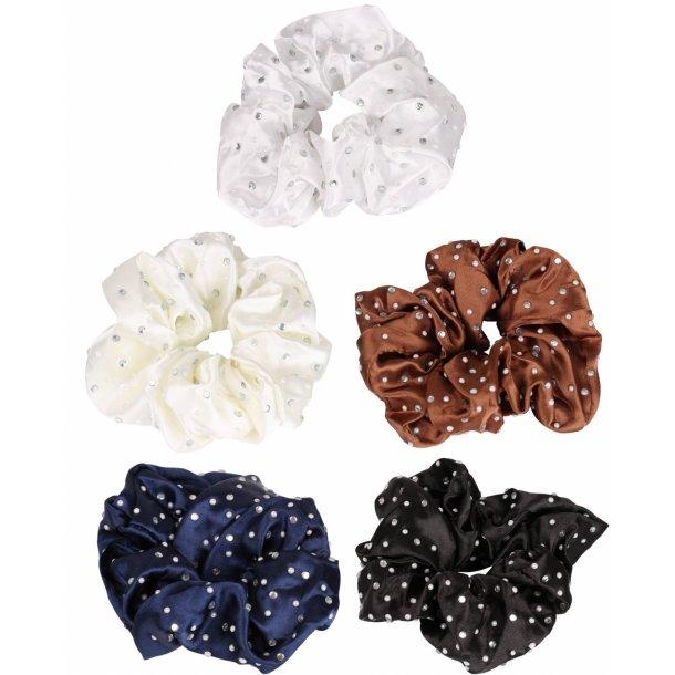 SD® Stardust & Pearl scrunchie. J-180