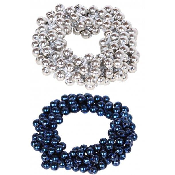 SD® Pearl Metallic Collection scrunchie. J-183