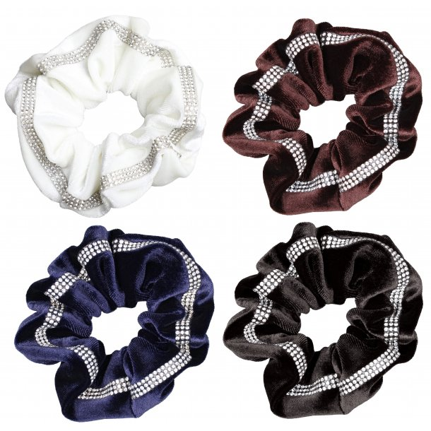 SD® Diamond row Scrunchie. J-187