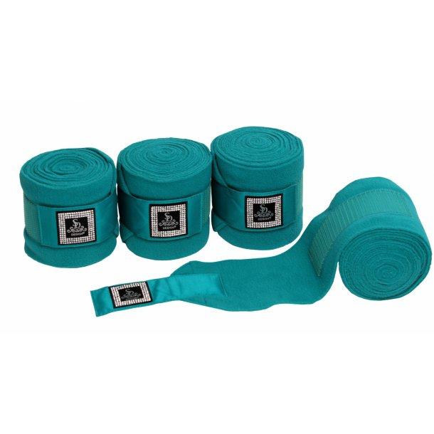 SD® Diamond edition fleece bandages in Turqouise. O-225