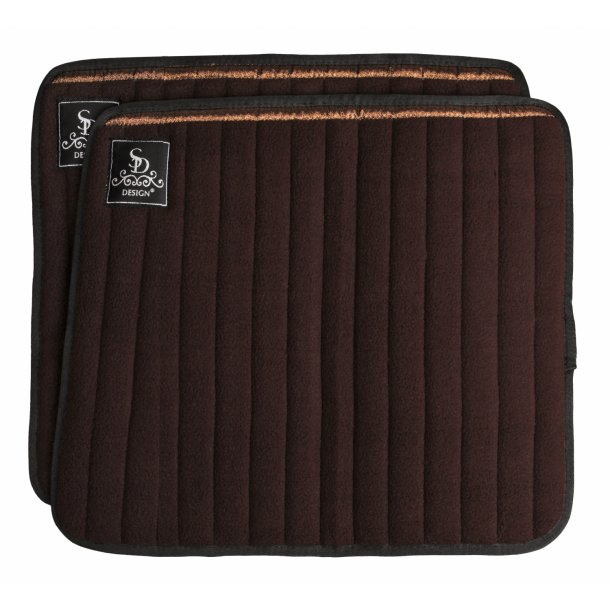 SD® Glitter bandage pad. Brown/Brown. O-236