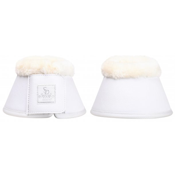 SD® Show Collection bell boots in white. O-260