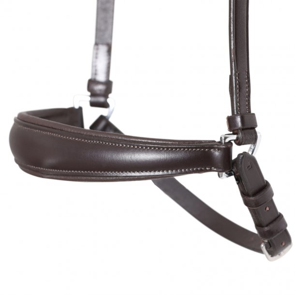 SD® Drop Noseband Brown/Brown. R-782