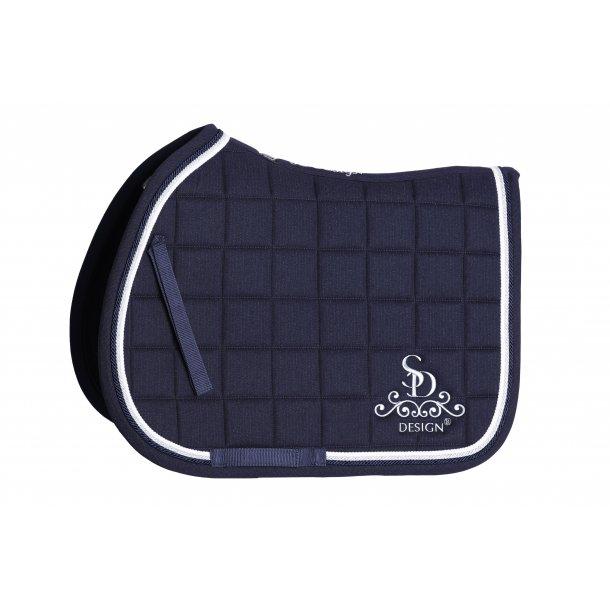 SD® Secret Shine Saddle pad in Navy. JUMP COB.  D-114