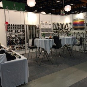 The Horsesport fair in Denmark in January.