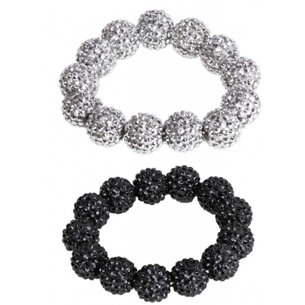 SD® Big Diamond bead scrunchie. J-161